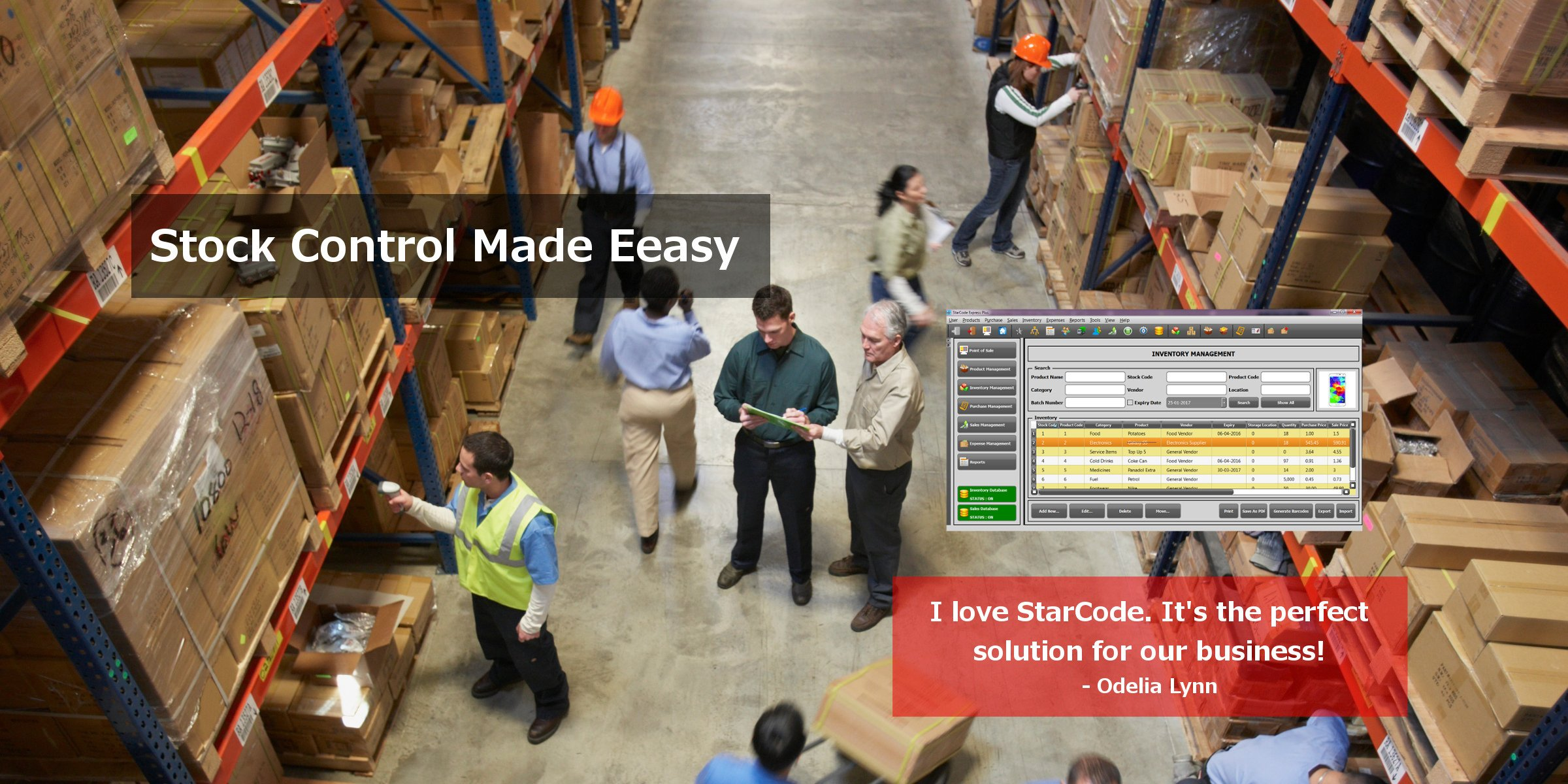Warehouse Inventory Management